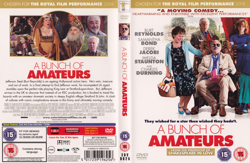 DVD Cover For A Bunch Of Amateurs