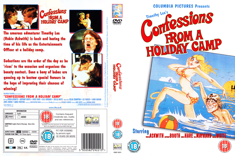 Entertainment Dvd Cover a Holiday Camp Dvd Cover