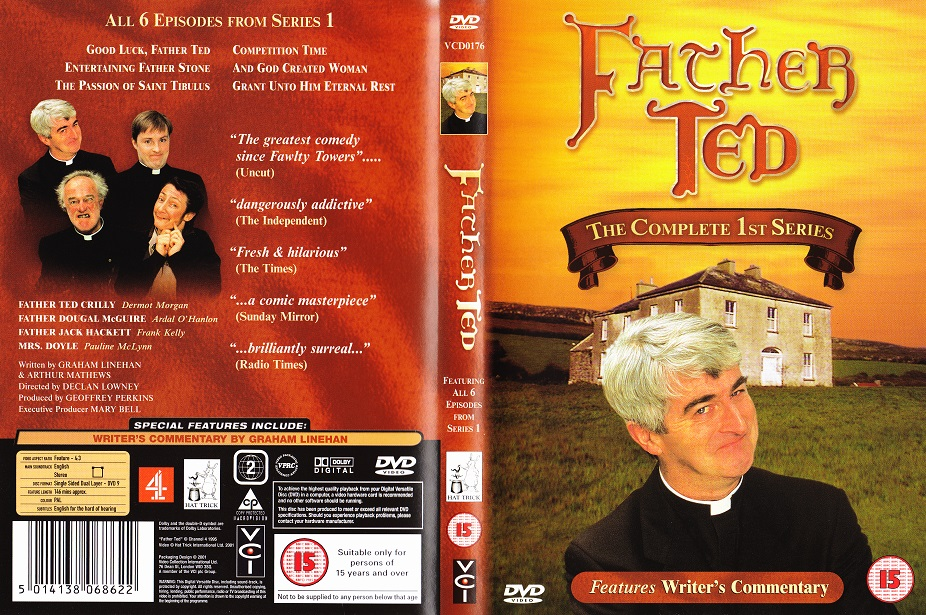 Dvd Cover For Father Ted Series One
